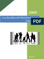 Los desafíos de la familia (Conferencia)