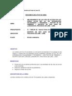 Resumen Ejecutivo de Obra (Junio 2012)