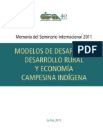 21.Modelos de desarrollo Rural y economia campesina indígena-2011.Variosa autores-Armando Bartra