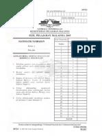 Matematik Tambahan Kertas 1 SPM 2005