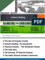 Financial Inclusion.