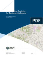 Esri Location Analytics for Bi