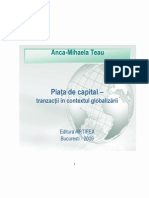 Piata de Capital - Tranzactii in Contextul Globalizarii- Car