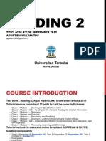 Reading II_Pertemuan 2_Modul 2&3_Agustien Anor.pptx