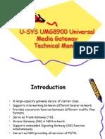 U-SYS UMG8900 Universal Media Gateway