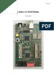 Lattice LC4128 Platine