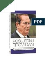 Posljednji Titovi dani