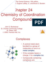 Chemistry Coordination Compounds