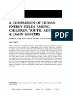 Comparison of Human Energy Fields Among Children, Youth, Adults