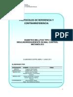 Diabetes Mellitus II Insulinorequiriente en Mal Control Metabolico