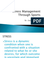 Stress Management Through Sports