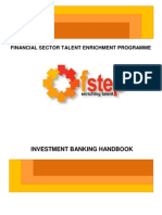 Fstep Manual Investment Banking Final