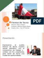 Fiestas de Tacna
