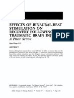 Effects of Binaural-Beat Stimulation on Recovery Following Traumatic Brain Injury; Signe Klepp (Vol 17 No 2)