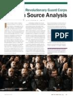 Iran's Islamic Revolutionary Guard Corps - An Open Source Analysis