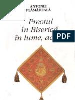 Antonie Plamadeala - Preotul in Biserica, In Lume, Acasa