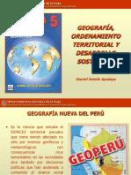 Geografía, ordenamiento territorial y desarrollo sostenible