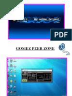 Tutorial Gomez Peer Zone