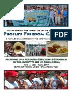 People's Freedom Caravan Report