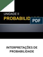 Probabilidade II