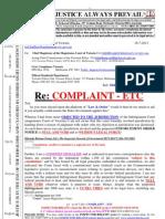 110716-Premier Ted Bailliue - COMPLAINT - Etc