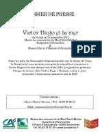 exposition Victor Hugo et la mer au Scriptorial d'Avranches - du 14 juin au 15 septembre 2013