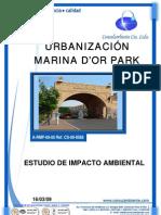 Resumen Estudio de Impacto Ambiental Urbanización Marina D'or Park