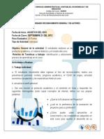 Guia de Actividades y Rubrica de Evaluacion Reconocimiento General y de Actores 2013 II