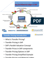 SAP Business Process Improvement Series - Transfer Pricing and Material Ledger in SAP