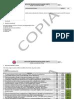 Informe de Evaluación Institucional