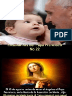 Enseñanzas del Papa Francisco - Nº 22