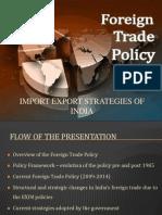 Import Export Strategies of India