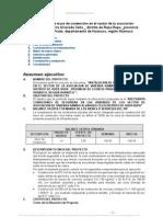 Instalacion Muro Contencion Sector Asociacion Vivienda Ramiro Alvarado Celis