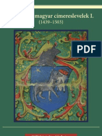 Középkori Magyar Címereslevelek I. (1439-1503)