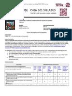 chen 301 fall 2013 syllabus