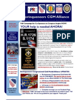 Borinqueneers Congressional Gold Medal Alliance 9-1-2013 E-Update