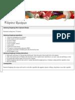 Adobong Kangkong Recipes