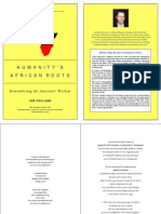Humanity's African Roots Pre Publication Edition