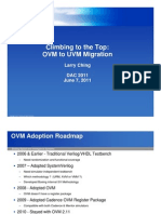 OVM UVM Migration