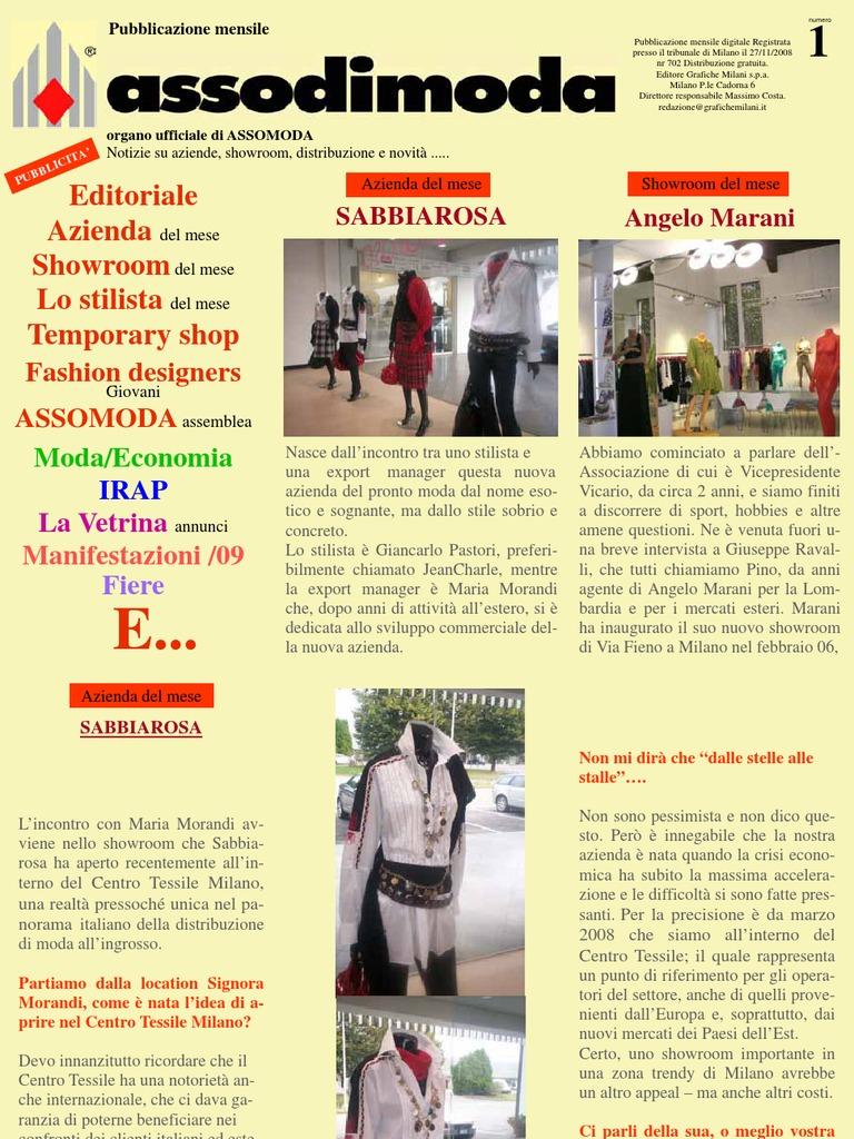 outlet store ba687 70b0a Asso di moda Magazine di Gennaio