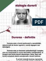 Fiziopatologia durerii