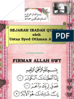 Sejarah Ibadah Korban(Ust Syed Othman)