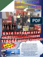 Ghidul informativ cu RESURSE de tineret Tineri pentru Tine(ri)