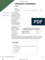 Encefalopatía metabólica - EcuRed