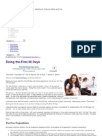Doing the First 90 Days _ Sources of Insight