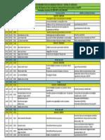 PROGRAMAÇÃO DO SEMINÁRIO SOBRE COMERCIALIZAÇÃO DE PESCADOS CURITIBA PR 06 09 2013