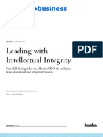 00186 Leading With Intellectual Integrity