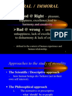 Part 2 MORAL Definition and 6 Types of Values