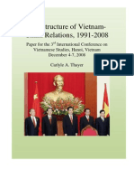 Carlyle Thayer - 2008, Dec - The Structures of Vietnam-China Relations, 1991-2008