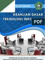 Modul Pelatihan Teknologi Informasi Kemenag RI 2013